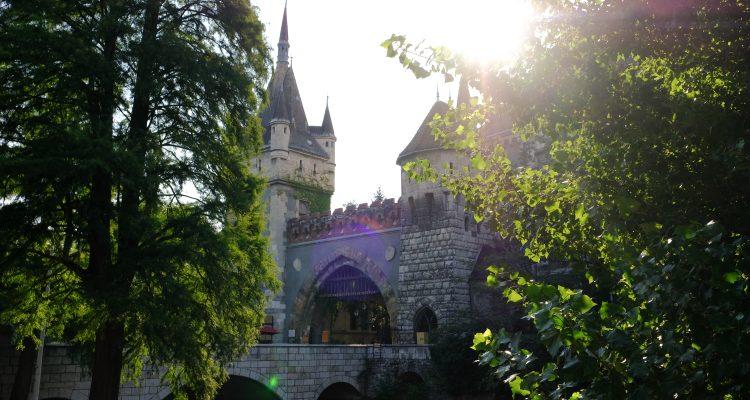 Замок Вайдахуняд в Будапеште, Венгрия